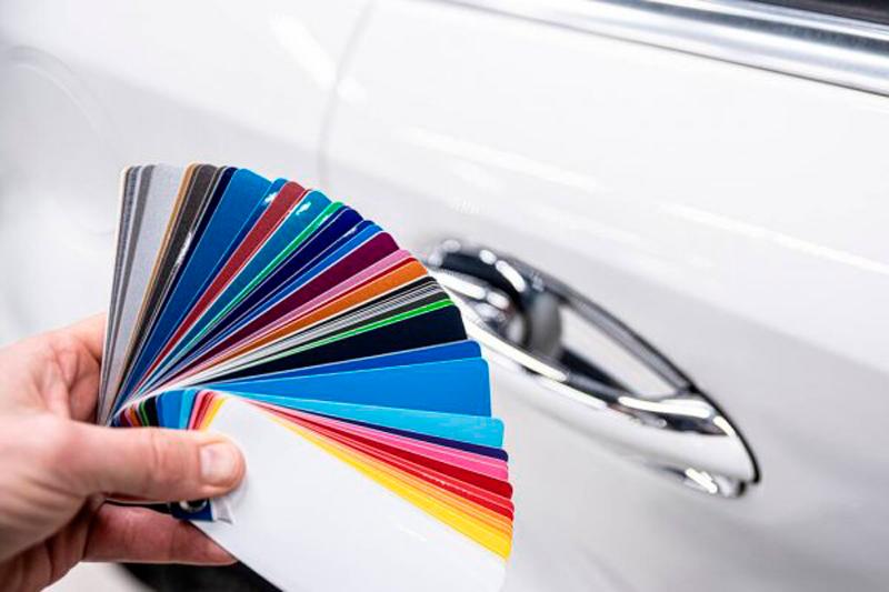 cambiar el color de tu coche